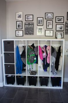 These DIY lockers for kids will help declutter your entryway and organize your children without breaking the bank!