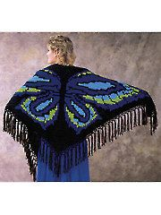 Butterfly Shawl - Electronic Download