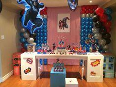 Captain America Birthday Party Ideas | Photo 1 of 32