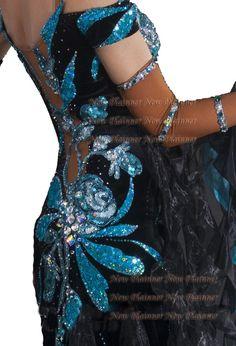 women B4606 Ballroom Cocktail swing Waltz Tango Dance Dress US 8 sleeve…