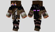 Enderman Hunter Skin para Minecraft