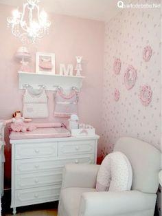 Pink Bedroom For Girls, Baby Bedroom, Little Girl Rooms, Baby Room Decor, Nursery Room, Girl Nursery, Bedroom Decor, Ideas Dormitorios, Toddler Rooms