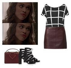 Lydia Martin - tw / teen wolf by shadyannon on Polyvore featuring polyvore moda style Boohoo Naf Naf Yves Saint Laurent Chanel fashion clothing