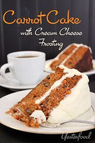 Topped with a rich cream cheese frosting, this lovely cake is the perfect way to end a special meal. It's beautifully simple with...