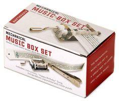 Une boite à musique à faire soi-même, cadeau pour musicien