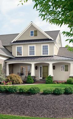 Pick The Right Exterior Paint Colors Stucco Colors, Exterior Color Palette, Paint  Colours,