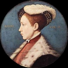 Edward, Prince Of Wales by Hans Holbein the Younger (1497 – 1543, German)