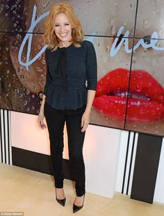 Kylie Minogue 11th March 2014