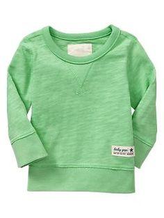 Slub crewneck pullover | Gap