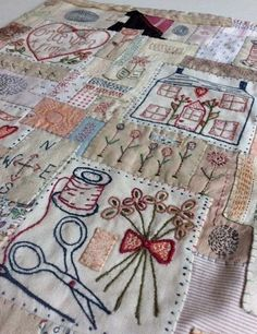 Image of The Jessie Chorley friendship quilt kit