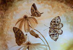 кофейные картины - Поиск в Google Art Painting, Animal Art, Cool Art Drawings, Coffee Art, Painting, Beer Painting, Cool Art, Krishna Painting, Nature Paintings