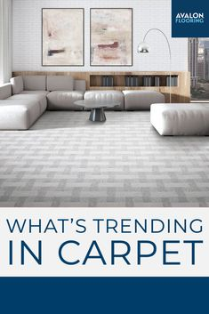 Carpet is still a perfect addition to your home design! Get the top carpet trends here and see all the design options available for your next project.