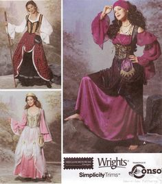 simplicity 9966 gypsy sewing pattern