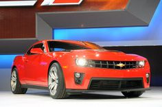 Own a Chevrolet Camaro 2012 in this color but with a white bumper stripe