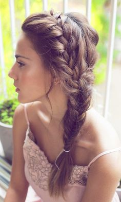 [Her] Sunday's Best : Hot Day Hair Inspo | The Braid