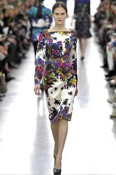 Winter florals and prints - autumn/winter 2012-13 trend (Vogue.com UK)