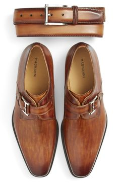 Magnanni 'Marco' Monk Strap Loafer (Men)