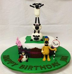I spent the most time making these figures (predominantly the wool), however I got the most enjoyment from it, being a huge fan of Shaun the Sheep