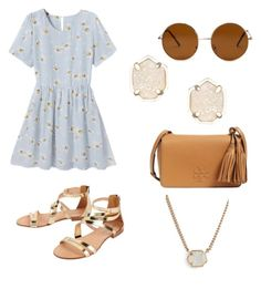 """Untitled #10"" by hannahehuff on Polyvore featuring Forever 21, Tory Burch, Kendra Scott, Cocobelle, women's clothing, women, female, woman, misses and juniors"