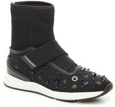 ccc1f440cee6 Mya Embellished Tripe Strap Slide Sandal