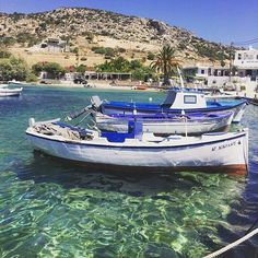 The wonderful and so peaceful port of Schinoussa island (Σχοινούσα) It's a tiny island part of the small Cyclades islands and is perfect for calm vacations !