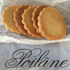 Poilane butter cookies recipe