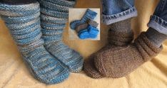 Knitting Pure and Simple - 116 - Adult Mukluk Slippers Patternfish's best selling slipper 2013