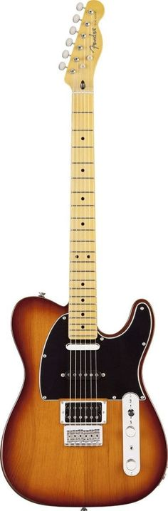 Fender Modern Player Telecaster Plus The Modern Player Telecaster Plus HSS is that rare bird among Telecaster guitars-a triple-pickup model-further distinguished by a pine body and mini-toggle coil-sp
