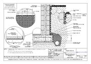 Externally Applied Basement Waterproofing CAD Drawings