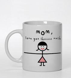 mom i love you this much #ceramic mug #mug #funny mug #coffee mug #custom mug