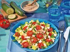 Quinoa-Salat mit Feta -