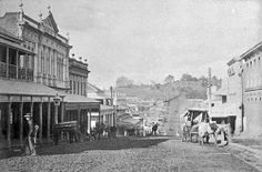 Brisbane Street, looking east from the Town Hall, Ipswich, 1899