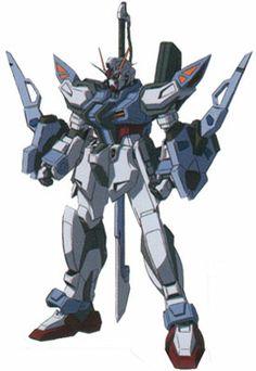GAT-X105E+AQM/E-X02 Sword Strike Gundam E