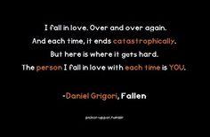 Daniel Grigori, Fallen (Fallen Series by Lauren Kate)