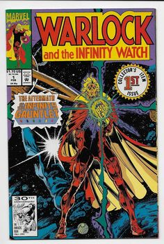 from $7.0 - 9 #Comics - Warlock & The Infinity Watch 1 - 9 -  Thanos Gamora Galactus