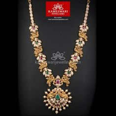 bridal sets & bridesmaid jewelry sets – a complete bridal look Real Gold Jewelry, Gold Wedding Jewelry, Gold Jewellery Design, Bridal Jewelry, Diamond Jewellery, Bridesmaid Jewelry Sets, Necklace Online, Necklace Designs, Peacocks