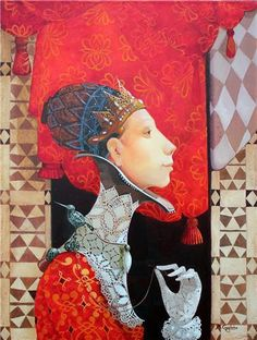 Irma Kusiani and Merab Gagiladze are artists from East Asia.