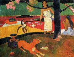Learn more about Tahitian Pastorals Paul Gauguin - oil artwork, painted by one of the most celebrated masters in the history of art. Paul Gauguin, Gauguin Tahiti, Impressionist Artists, Poster Prints, Art Prints, Posters, Pierre Auguste Renoir, Art Moderne, Gustav Klimt