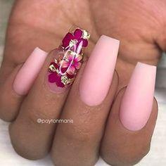 35 Impressive Pink Nail Art Designs Ideas – – Famous Last Words Nail Art Designs, Winter Nail Designs, Winter Nail Art, Acrylic Nail Designs, Winter Nails, Summer Nails, Acrylic Nails, Pink Summer, Pink Nail Art