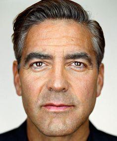 Martin Schoeller, portrait of George Clooney Celebrity Headshots, Celebrity Faces, Celebrity Portraits, Celebrity Photos, Actor Headshots, Male Portraits, Celebrity Crush, Martin Schoeller, Annie Leibovitz