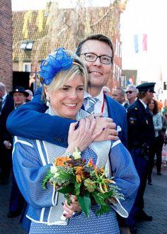 royalwatcher:  Koningsdag 2014, April 26, 2014-Prince Constantijn and Princess Laurentien