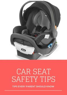 Car Seat Safety Tips | Car Seat Tips and Tricks | MomTrends.com #carseat #ad