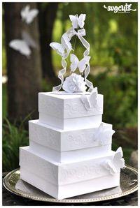 Wedding Cake / Card Box - By Fleurette Bloom