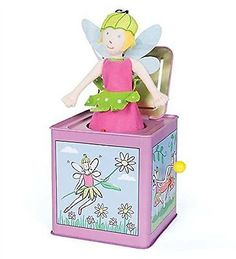 Jack-in-the-Box 166785: Lillie The Fairy Jack In The Box -> BUY IT NOW ONLY: $42.39 on eBay!