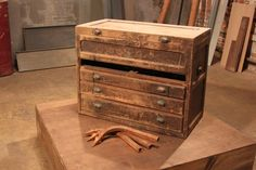 Before: Out-of-Date Tool Box This old wooden tool chest has certainly seen better days, but some imagination and elbow grease give it a bran...