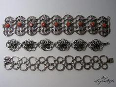 Bransolety ORNO i Rytosztuka/ brancelets ORNO and Rytosztuka/ polish vintage jewellery/ polish PRL jewellery/ vintage brancelet/ vintage silver jewellery #vintagejewellery #polishjewellery #PRLjewellery #polskabiżuteria #polskabiżuteriaPRL #brancelet #ORNO #Rytosztuka #coral #jadeit
