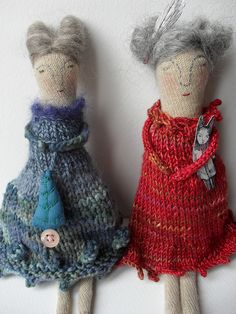 Eliza and Esther by Maidolls, via Flickr