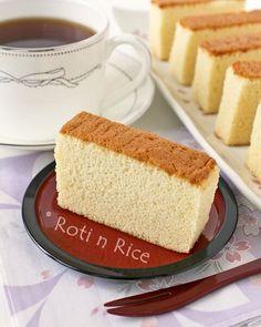 Japanese honey cake.