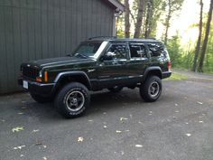 """No Hammer.   3"""" of Zone brand lift kit made it all work out.   Wheels and Tires from Discount Tire.   Great Service from DT."""