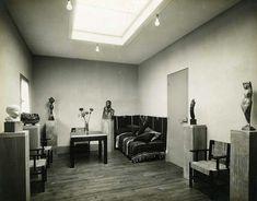 Intérieur de la maison atelier de Chana Orloff, 1926